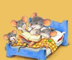reading together mouse family